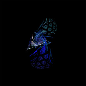 #fractal #rendition of an #abstract #peacock